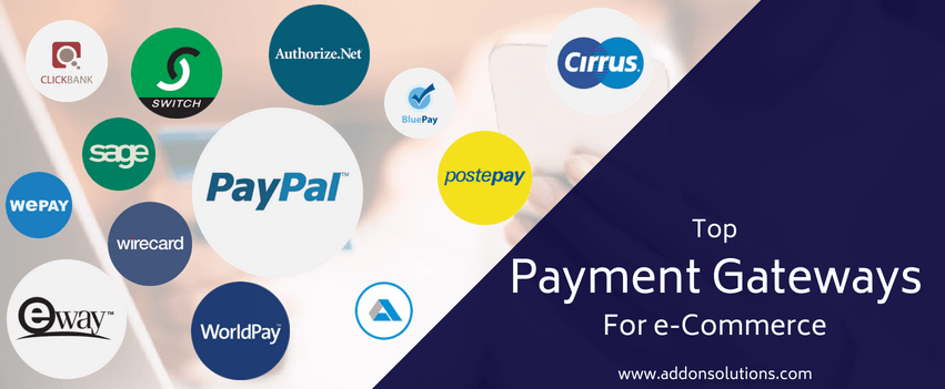 List of Top Payment Gateways Country Wise
